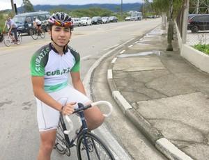 Ricardo Pereira ciclismo cubatão (Foto: Bruno Gutierrez)