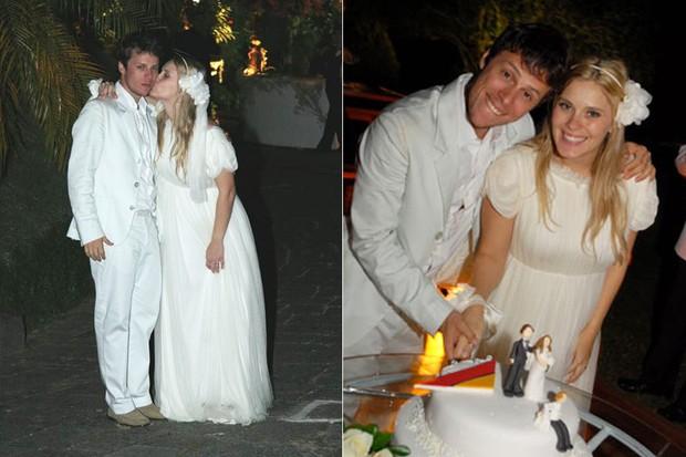 CASAMENTOS - Carolina Dieckmann e Tiago  - 2007 (Foto: Felipe Assunpção - Agnews)