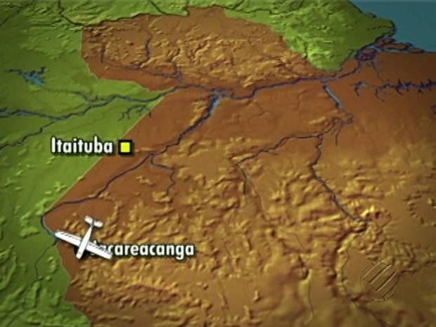 Avião Desaparecido Jacareacanga (Foto: Reprodução/TV Liberal)
