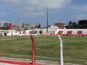 Estádio e beer CRB foram vendidos para a construção de um novo CT. (Foto: Viviane Leão/GLOBOESPORTE.COM)
