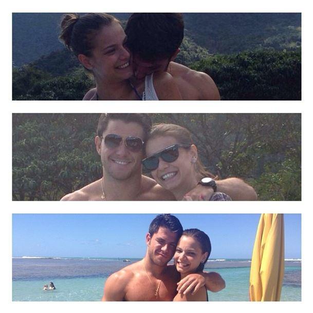 Milena Toscano e namorado (Foto: Instagram/Reprodução)