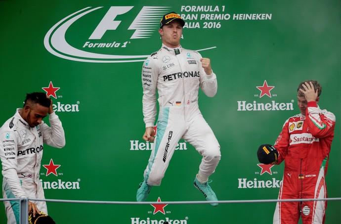 Nico Rosberg, Monza 2016 (Foto: Reuters)