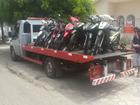 CPTran apreende 31 ciclomotores não licenciados em Aracaju