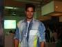 Ex-BBB André vai à SPFW sem Fernanda: 'Ela está trabalhando'