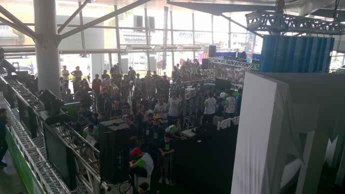 Cerca de 3 mil pessoas prestigiaram o 1º dia do TEM GAMES em Itapetininga (Foto: Francine Galdino/G1)