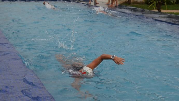 Corrida, natação e pedalada fazem parte das provas de Mariana Costa no Brasileiro de Triathlon  (Foto: Lívia Costa)