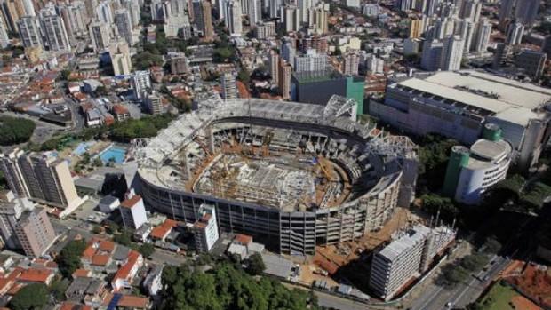 arena palmeiras imagens aéreas (Foto: Divulgação)