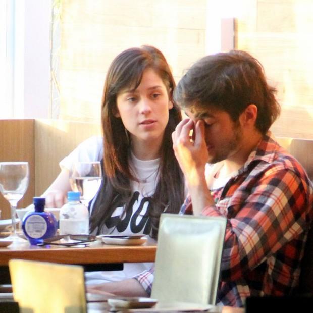 Fiuk e Sophia Abrahão (Foto: Marcus Pavão/AgNews)