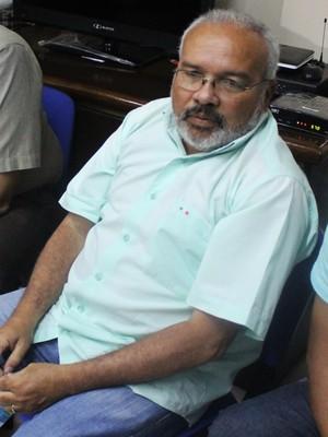 Jankel Costa, presidente do Flamengo-PI (Foto: Ramiro Pena)