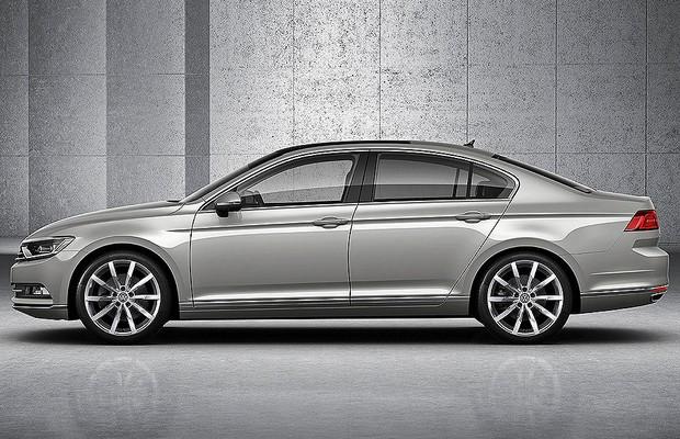 Nova geração do VW Passat (Foto: Divulgação)