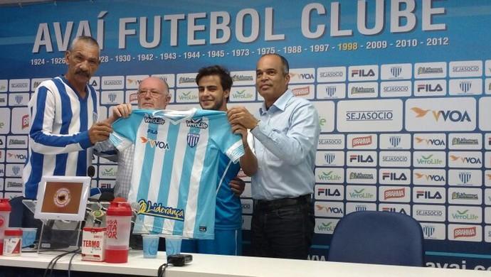 joão paulo avaí albeneir (Foto: Marcelo Siqueira / RBSTV)
