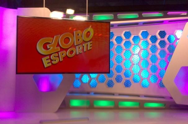 Novo estúdio do Globo Esporte RS (Foto: Daniela Kalicheski/RBS TV)