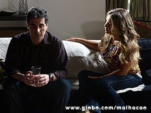 Abelardo fica sem graça, e Detinha se emociona (Foto: Malhação / TV Globo)