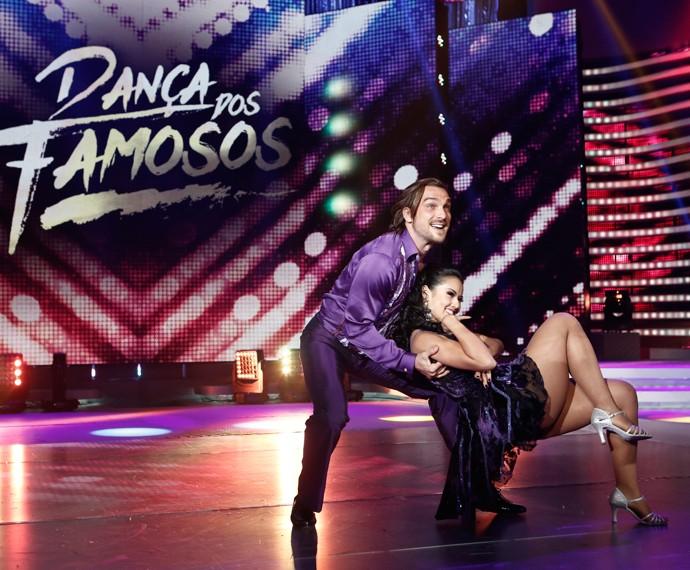 Igor Rickli no palco do 'Dança 2015' (Foto: Inácio Maraes/Gshow)