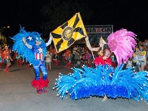 Escola de samba acumula títulos do carnaval de Várzea Alegre (Foto: Divulgação/ Diretoria da Unidos do Roçado de Dentro)