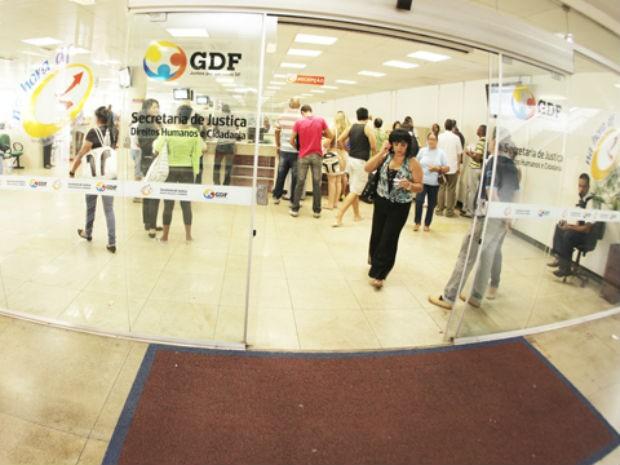 Agência do Na Hora na Rodoviária do Plano Piloto, no DF (Foto: GDF/Divulgação)