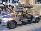 Carro clássico do cinema, DeLorean ganha versão elétrica na CES 2012