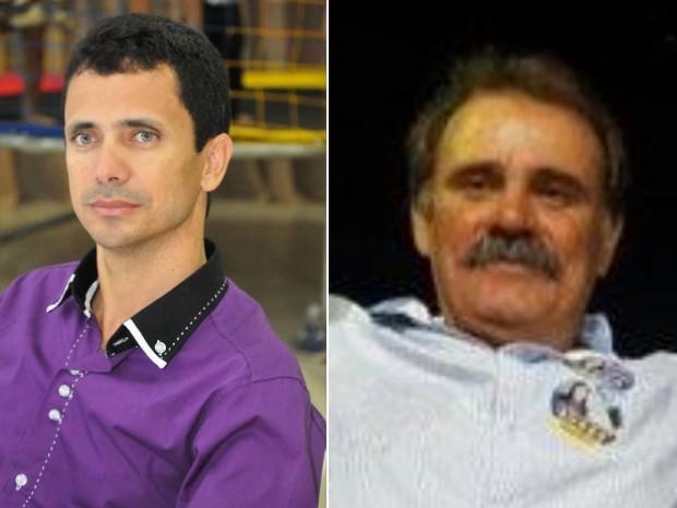 Major Eldecírio, prefeito eleito de São Luís dos Montes Belos, e Rodrigues, prefeito eleito de Palestina de Goiás (Foto: Reprodução/Facebook)