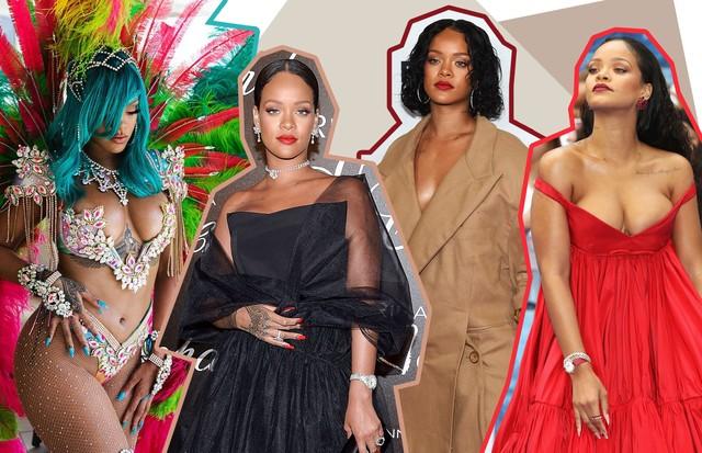 Rihanna ensina a valorizar as curvas com os looks certos