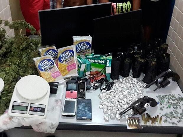 Operação prende sete pessoas em Rio Real (Foto: Divulgação/Polícia Civil)