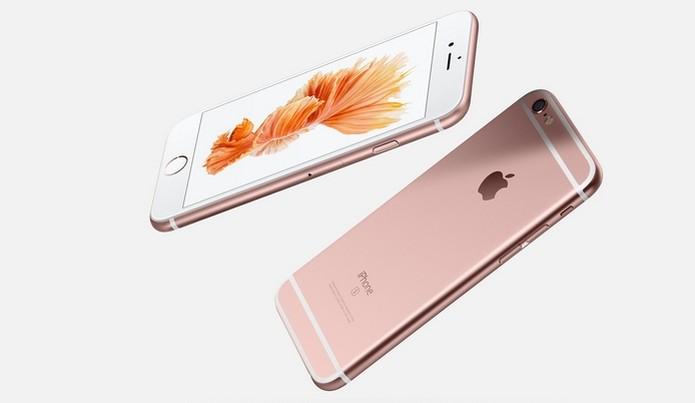 iPhone 6S ganhou opção de cor rosa (Foto: Divulgação/Apple) (Foto: iPhone 6S ganhou opção de cor rosa (Foto: Divulgação/Apple))