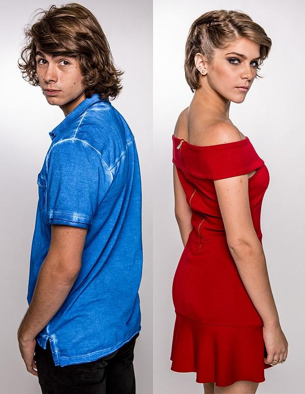 A gente ama esses dois, né? (Foto: Fábio Rocha / Gshow)