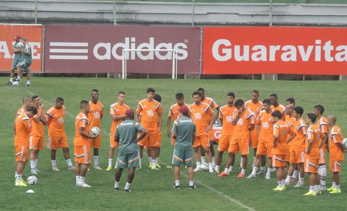 Treino Fluminense nas Laranjeiras (Foto: Fred Huber)