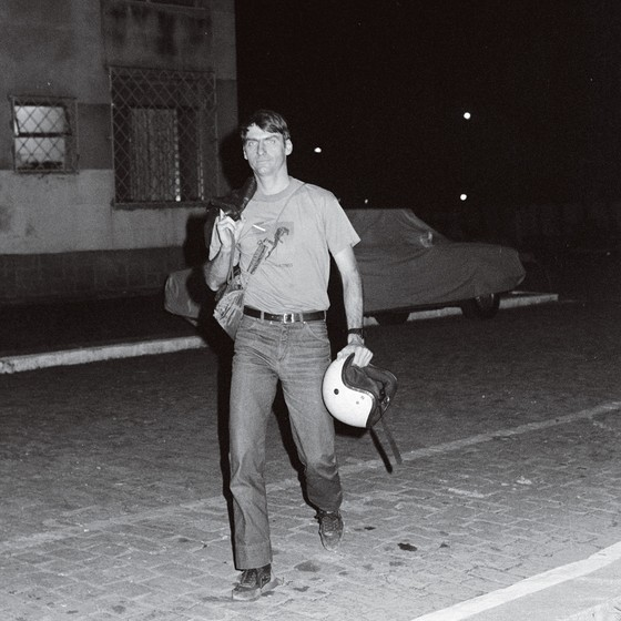 Jair Bolsonaro em 1988 (Foto: Luiz Pinto / Agência O Globo )