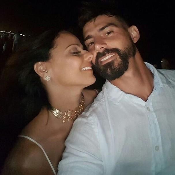 Radamés Martins e Viviane Aráujo (Foto: Instagram/Reprodução)