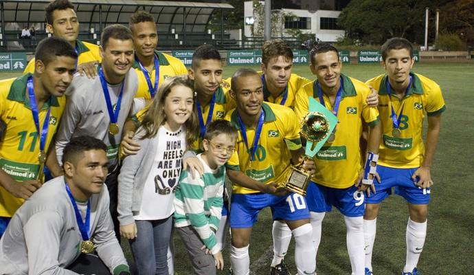 Brasil x Argentina - desafio paralímpico (Foto: Luciano Bonomo/Divulgação)