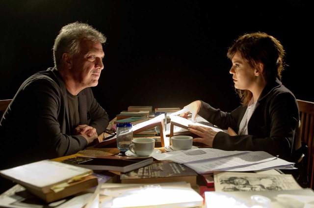 Barbara Paz recebeu Pedro Bial no programa 'A arte do encontro', do Canal Brasil (Foto: Mari Vianna)