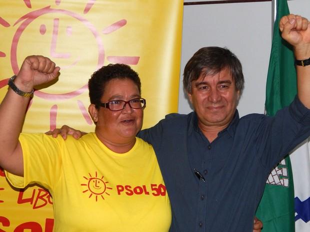 Professor Robério Paulino é candidato a prefeito de Natal pelo PSOL (Foto: Maurício Pandolphi/Divulgação)