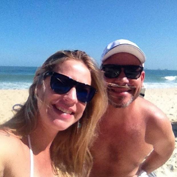 Luana Piovani e amigo  (Foto: Instagram / Reprodução)