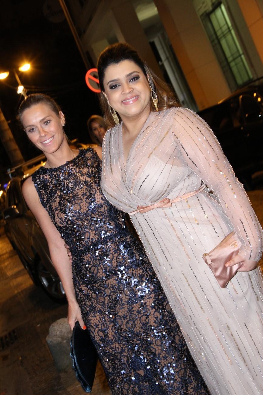 Carolina Dieckmann e Preta Gil (Foto: Roberto Filho / AG. News)