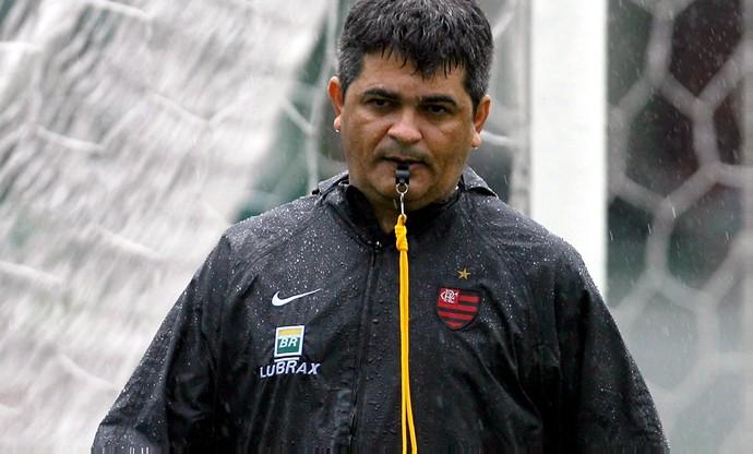 Ney Franco Flamengo treino (Foto: Alexandre Cassiano / O Globo)