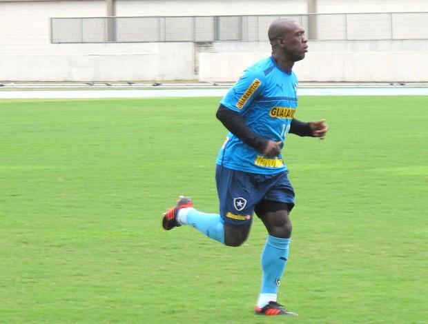 Seedorf, treino do Botafogo (Foto: Thales Soares / Globoesporte.com)