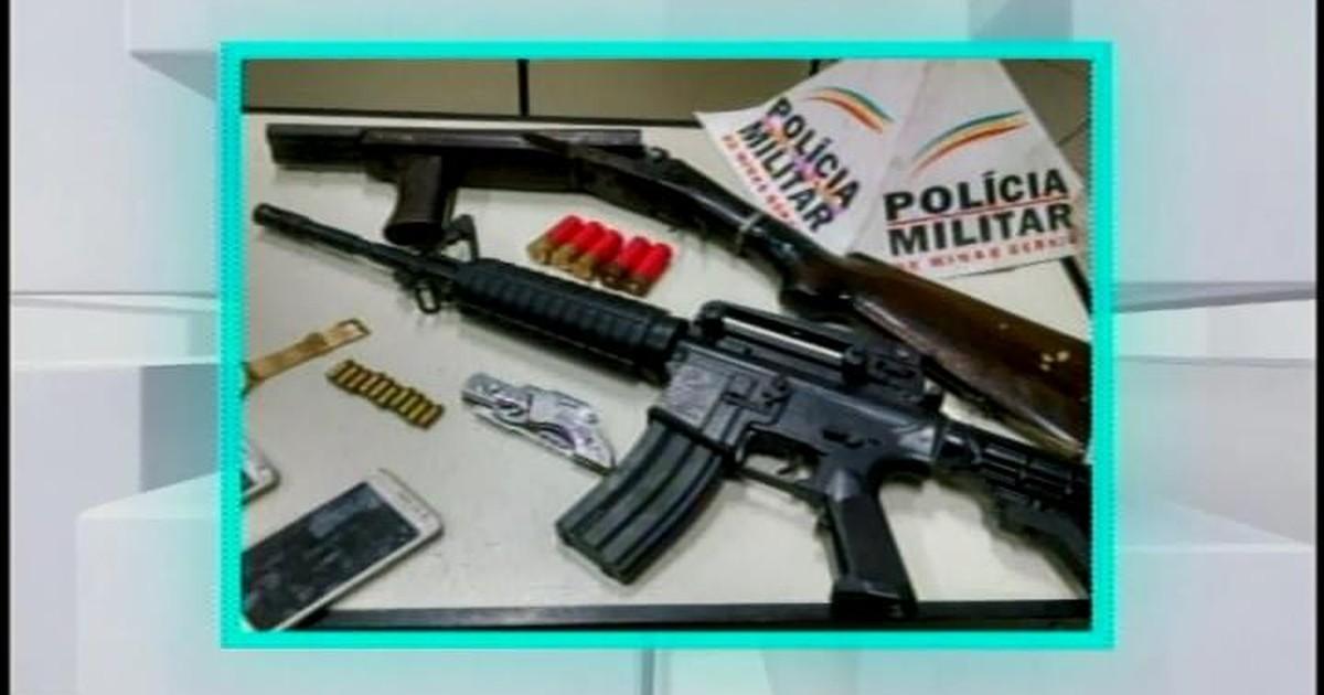 Resultado de imagem para PM apreende adolescentes e encontra escopeta e réplica de fuzil em MG