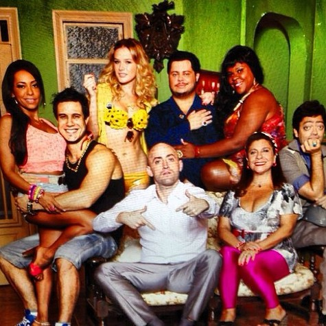 Elenco de 'Vai que cola', novo programa do Multishow (Foto: Reprodução)