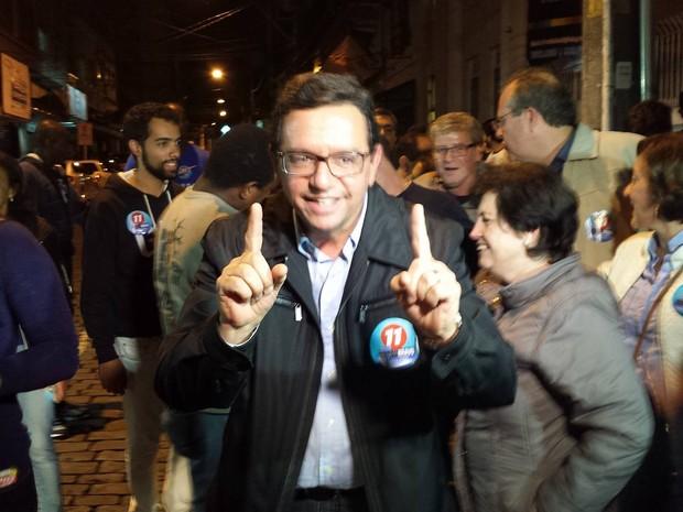 Renato Bravo foi eleito com pouco mais de 29 mil votos (Foto: Juliana Scarini / G1)