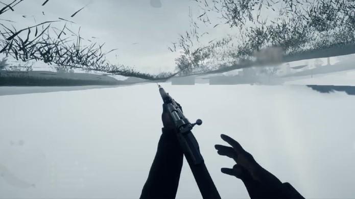 Atravessar o chão é um dos bugs mais antigos dos jogos 3D e às vezes acontece em Battlefield 1 também (Foto: Reprodução/YouTube)