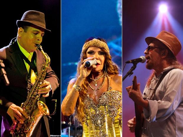 Spok, Elba Ramalho e Geraldo Azevedo fazem show gratuito no Dona Lindu (Foto: Divulgação)