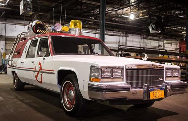 Cadillac Fletwood em Caça-fantasmas (Foto: Reprodução)