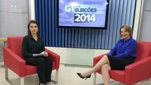 Jaqueline Cassol quer fortalecer empresas (Ana Fabre/G1)