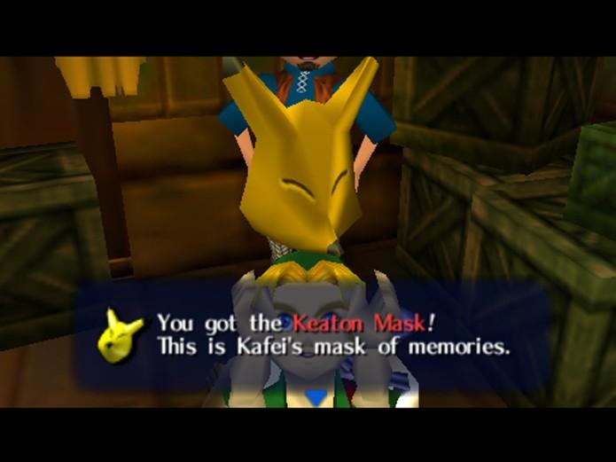 Keaton Mask é famosa por lembrar o Pikachu (Foto: reprodução)