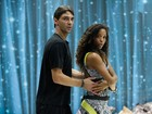 Elenco aplicado do 'Dança 2014' termina segundo dia de ensaio