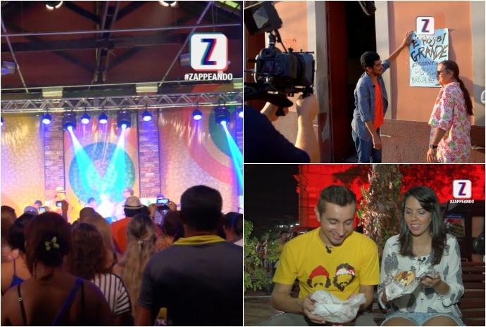 Confira o que foi ao ar no Zappeando especial de Manaus, neste sábado (24) (Foto: Zappeando)