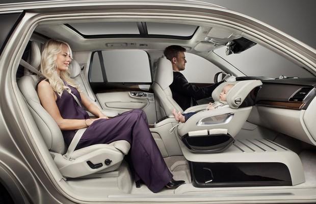 Volvo Child Seat Concept (Foto: Divulgação)