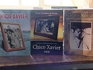 Chico Xavier psicografou mais de 400 livros (Foto: Reprodução/TV Integração)