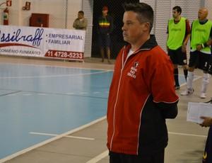 Técnico Jabá Mogi das Cruzes Futsal contra São José (Foto: Bruno Rocha)