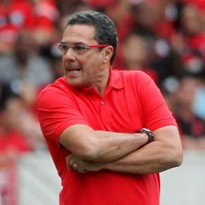 Vanderlei Luxemburgo Flamengo x Sport (Foto: Cezar Loureiro / Ag. O Globo)